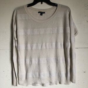 AEO women's white long sleeve t-shirt size S/P